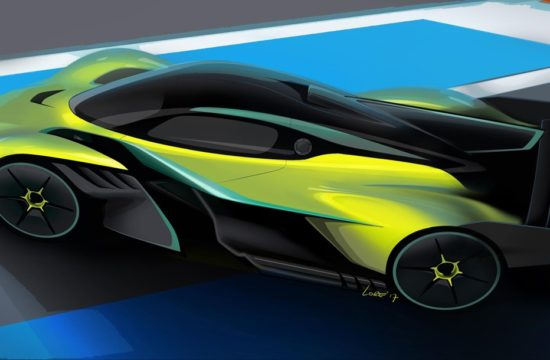 Valkyrie AMR Pro 01 550x360 at Aston Martin Valkyrie AMR Pro Can Pull 3.3g Around Corners!