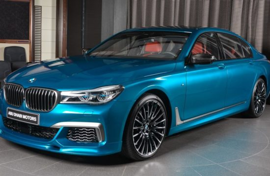 bmw m760li individual long beach blue top 550x360 at BMW M760Li Individual Looks Dapper in Long Beach Blue