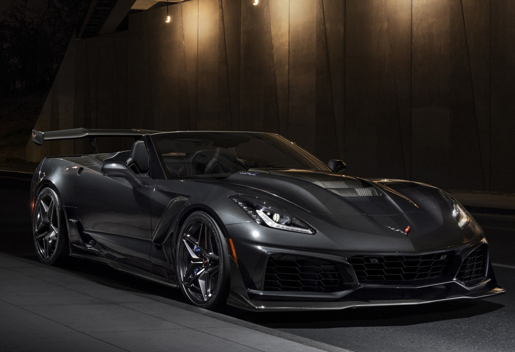 2019 Corvette Zr1 Convertible Unveiled At L A Auto Show