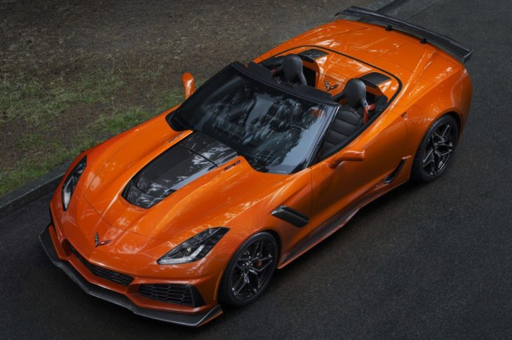 chevrolet corvette zr1 convertible 3 730x485 at 2019 Corvette ZR1 Convertible Unveiled at L.A. Auto Show