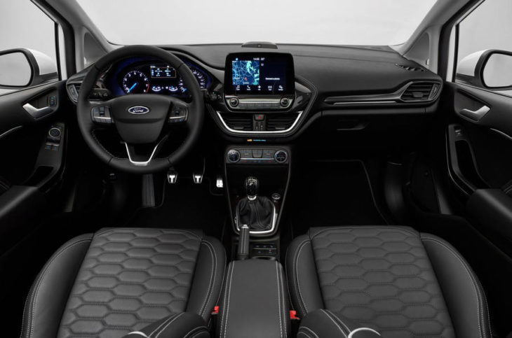 fiesta interior 730x483 at A Review of the New Ford Fiesta