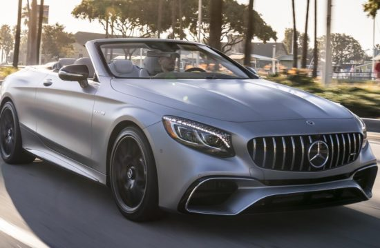 2018 Mercedes S Class Cabriolet UK 1 550x360 at 2018 Mercedes S Class Cabriolet (S560, S63, S65) UK Pricing and Specs