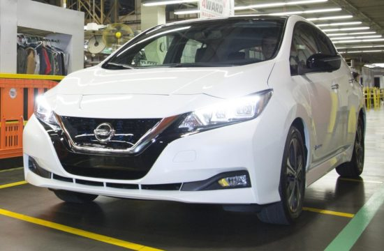 2018 Nissan LEAF Production 1 550x360 at 2018 Nissan LEAF Production Begins in Tennessee