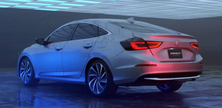 2019 Honda Insight 5 730x358 at 2019 Honda Insight Set for NAIAS Debut
