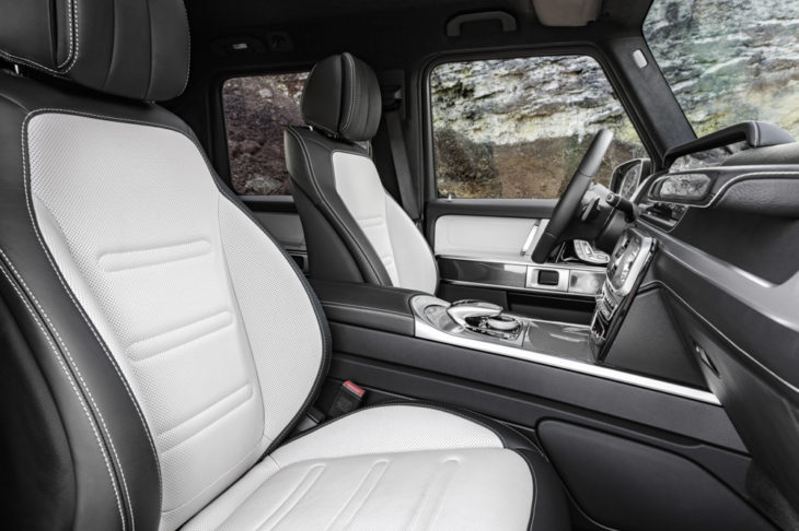 2019 Mercedes G Class Interior 5 730x486 at 2019 Mercedes G Class Interior Revealed in Official Photos
