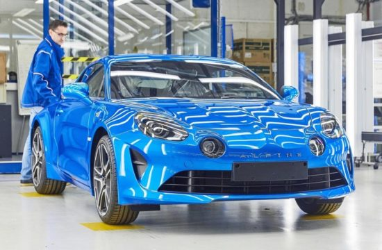 Alpine A110 Production 0 550x360 at Alpine A110 Production Gets Underway in France
