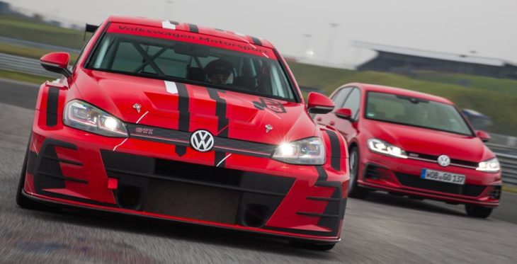 Golf GTI TCR 1 730x373 at 2018 VW Golf GTI TCR Gets a Facelift
