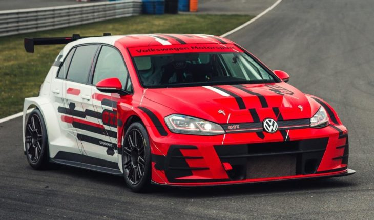 2018 Cobra Jet Mustang >> 2018 VW Golf GTI TCR Gets a Facelift