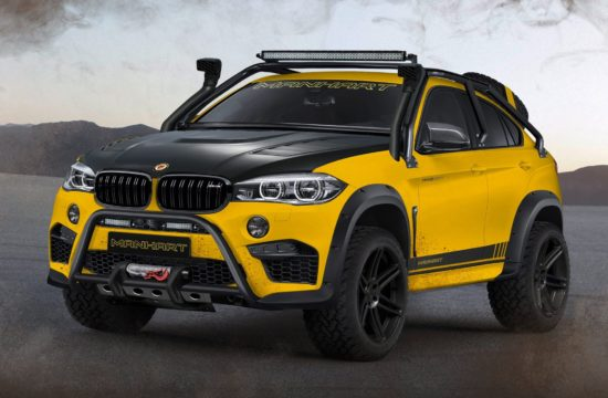 Manhart MHX6 Dirt 1 550x360 at Manhart MHX6 Dirt² Is BMW X6Ms Offroad Cousin
