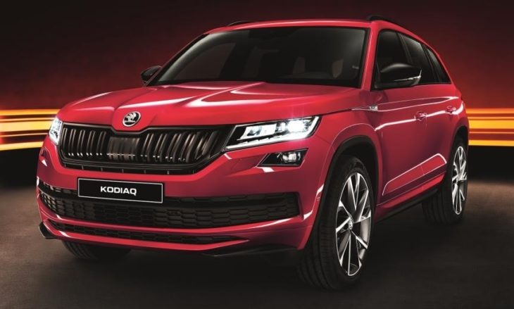 Skoda Kodiaq SportLine UK 1 730x439 at 2018 Skoda Kodiaq SportLine UK Pricing and Specs