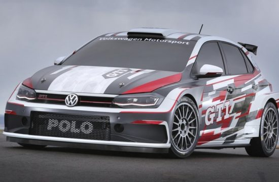 VW Polo GTI R5 1 550x360 at 2018 VW Polo GTI R5 Revealed, Looks Awesome