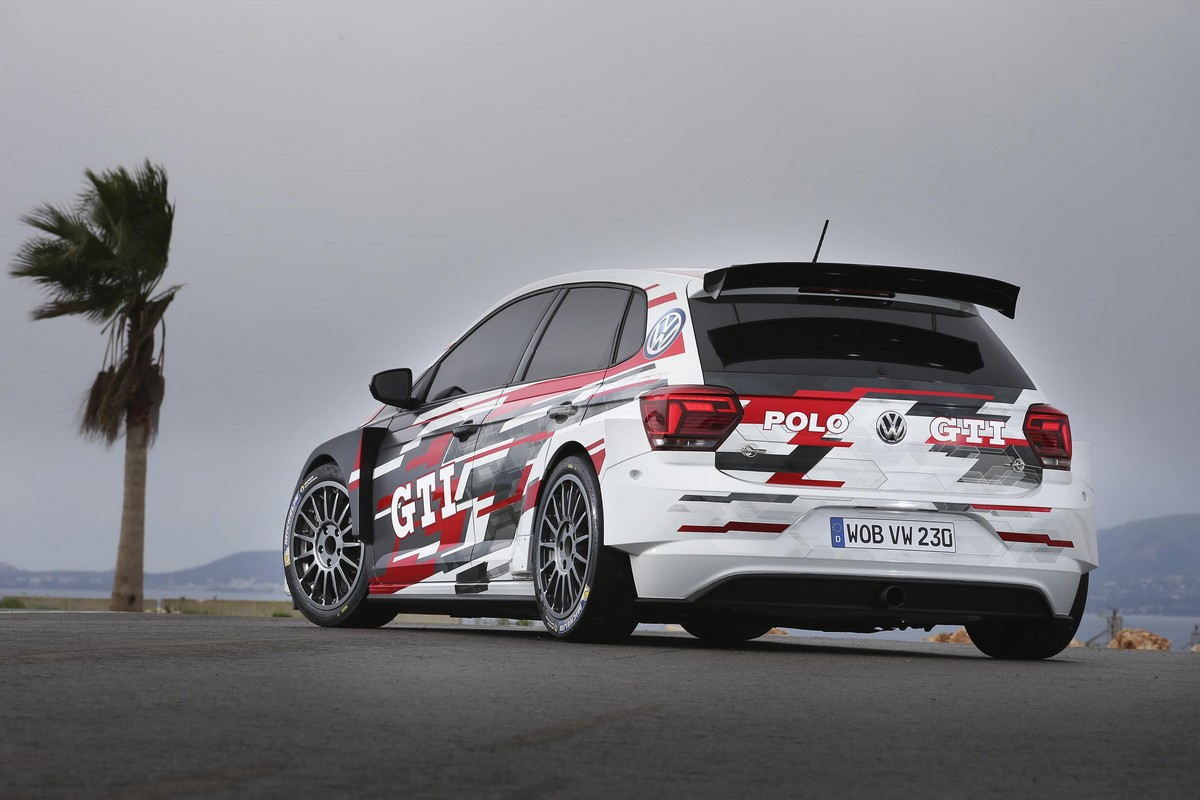 2018 vw polo gti r5 revealed looks awesome. Black Bedroom Furniture Sets. Home Design Ideas