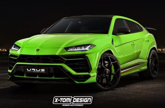 lamborghin urus performante 550x360 at Lamborghini Urus Performante Rendered, Configurator Launched