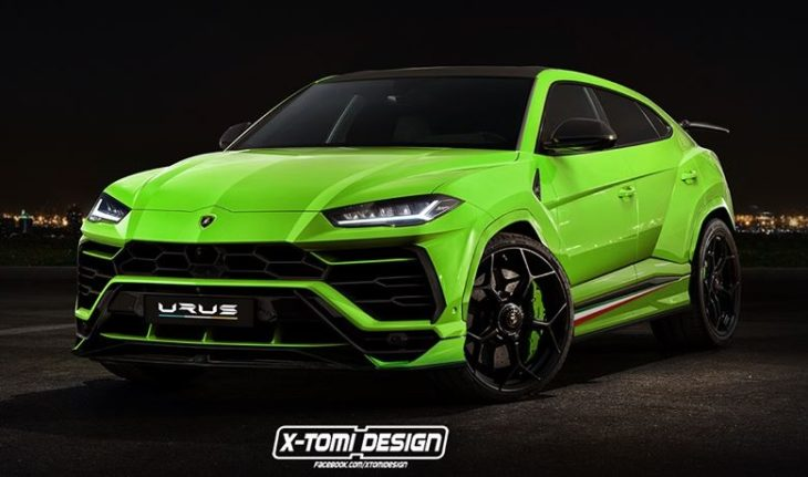 lamborghin urus performante 730x431 at Lamborghini Urus Performante Rendered, Configurator Launched