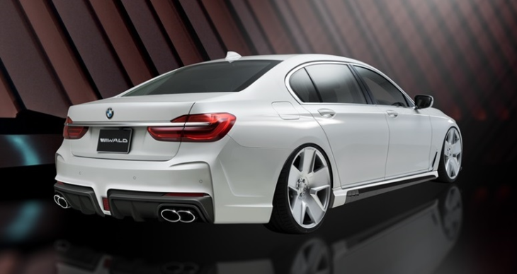 wald aero 7series blackbison 002 730x388 at Wald BMW 7 Series Black Bison G11 and G12