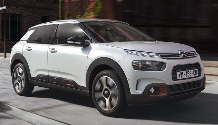 2018 Citroen C4 Cactus at 2018 Citroen C4 Cactus Gears Up for UK Launch