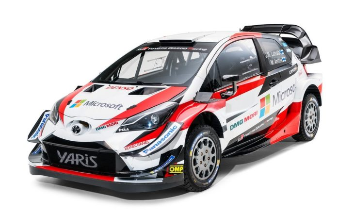 2018 Toyota Yaris WRC 1 730x443 at 2018 Toyota Yaris WRC Rally Car Unveiled