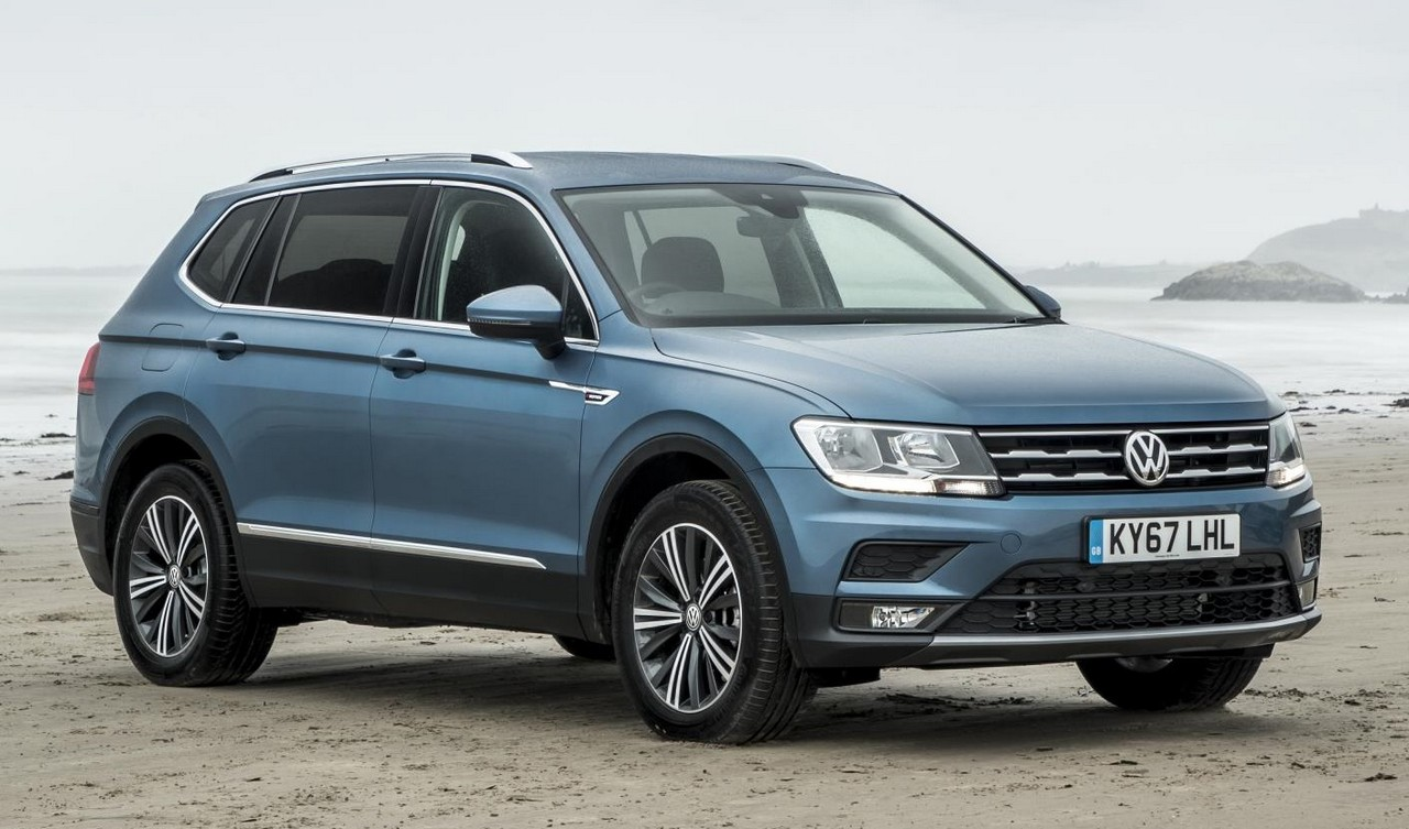 2018 vw tiguan allspace uk pricing and specs. Black Bedroom Furniture Sets. Home Design Ideas