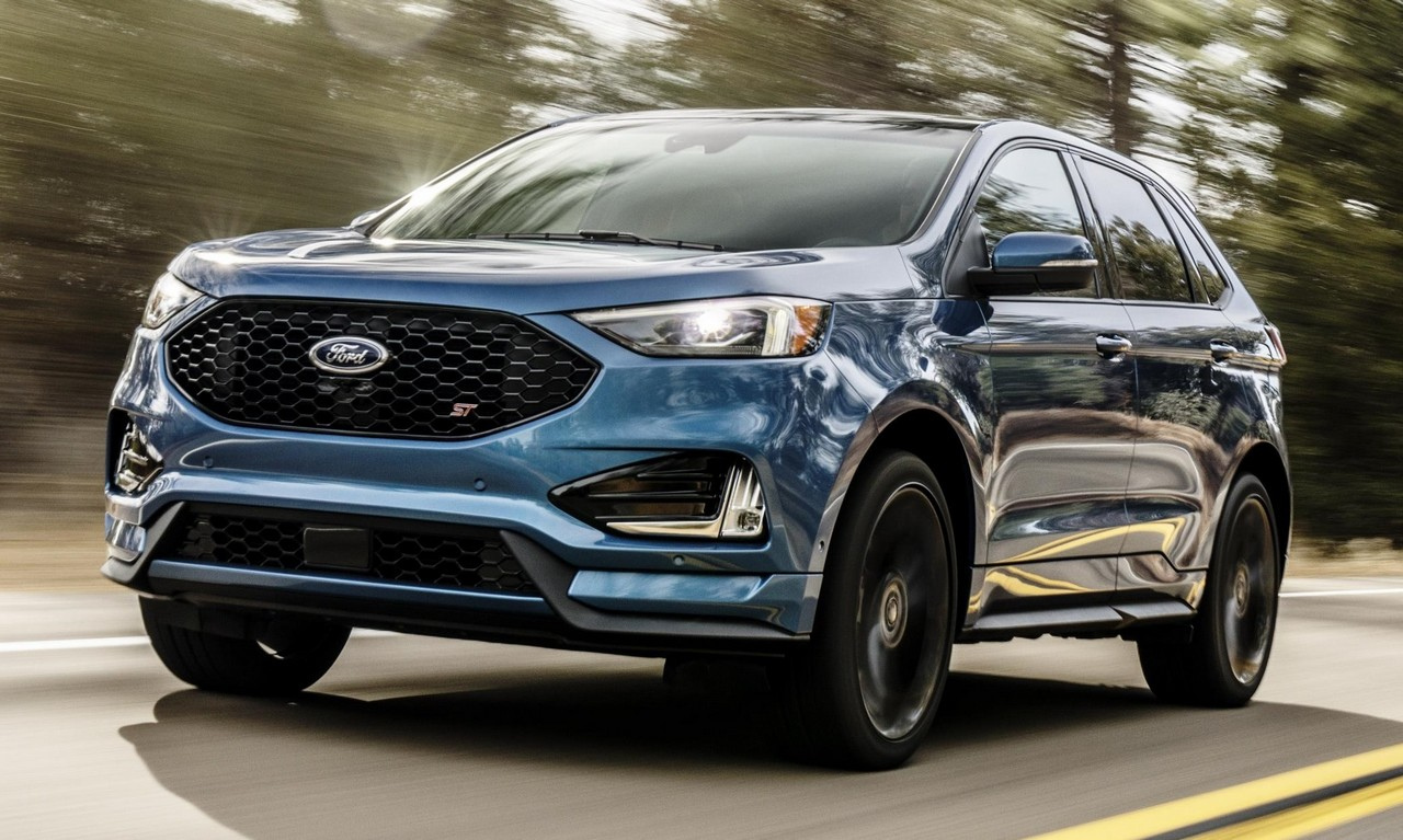 2019 Ford Edge St Unveiled With 335 Horsepower