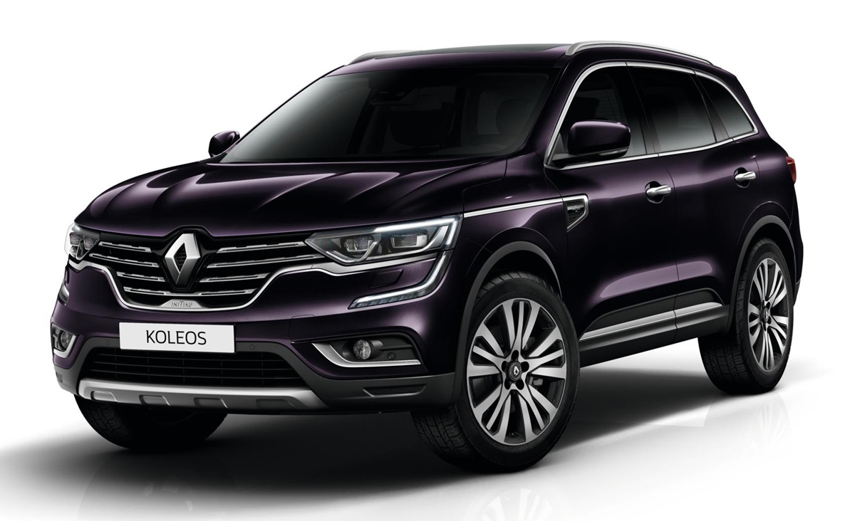 2018 renault koleos initiale paris launches in uk. Black Bedroom Furniture Sets. Home Design Ideas