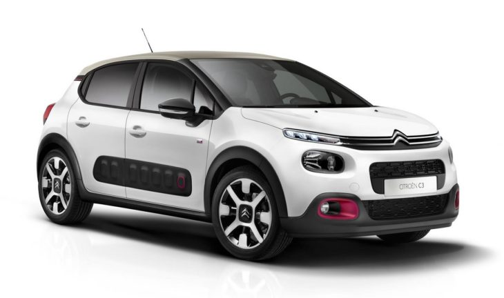 Citroen C3 Elle 1 730x432 at 2018 Citroen C3 Elle Special Edition Has Cherry Pink Accents