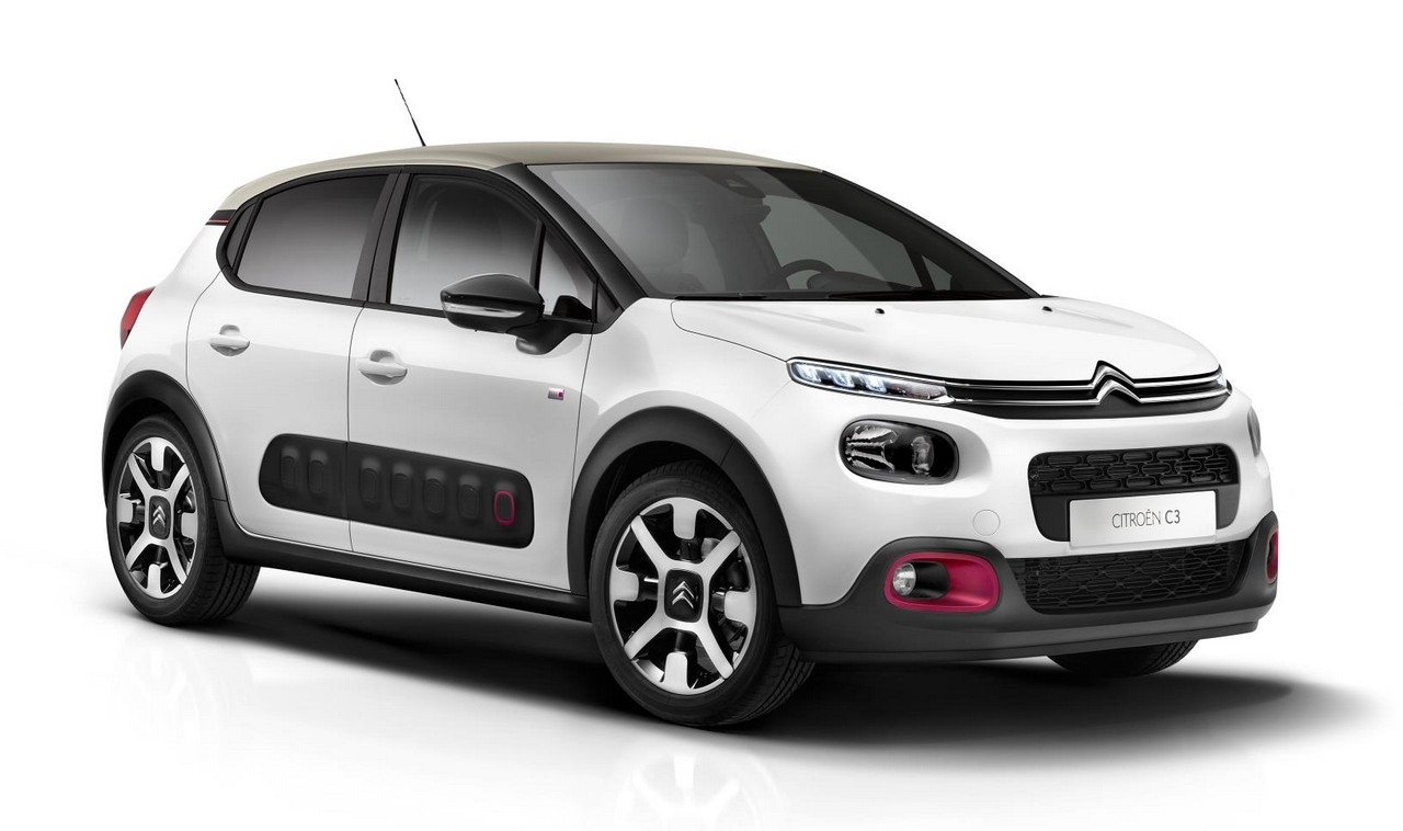 2018 Citroen C3 Elle Special Edition Has Cherry Pink Accents