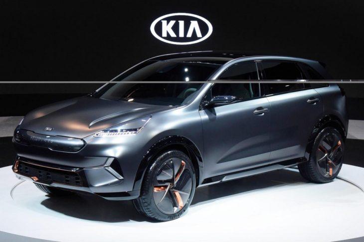 kia niro ev concept 1 730x486 at Kia Niro EV Concept Unveiled at CES 2018