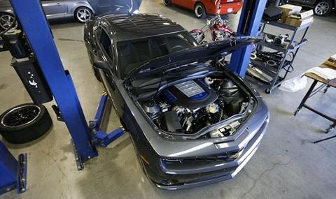 Hennessey Camaro with ZR1s LS9 engine hennessey camaro ls9 1