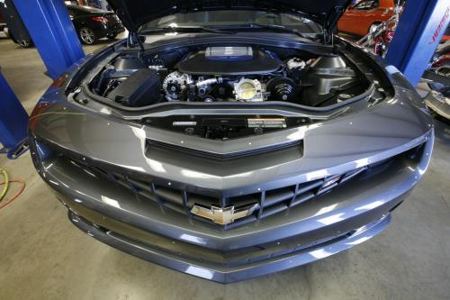 Hennessey Camaro with ZR1s LS9 engine hennessey camaro ls9 2