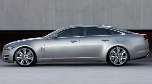 New Jaguar XJ-Series 2010 Pictures