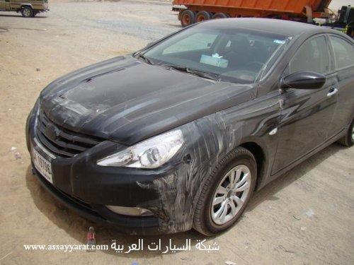Hyundai Sonata 2011 Black. 2011 Hyundai Sonata scooped in