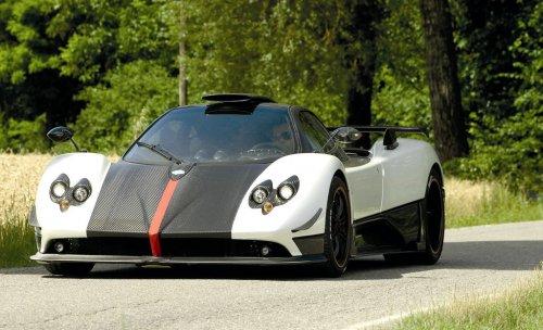 Pictorial Pagani Zonda Cinque Roadster Live