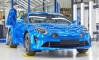Alpine A110 Production Gets Underway in France