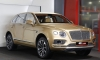 Gallery: Bentley Bentayga Looks Dapper in Gold