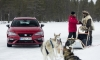 SEAT Leon CUPRA Takes on Six Siberian Huskies!