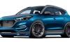 SEMA 2017: Vaccar Hyundai Tucson Sport Concept