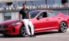 Tennis Star Raphael Nadal Gets a Kick Out of Kia Stinger