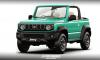 New Suzuki Jimny Cabrio and Pickup Look Predictably Cute