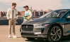 Baby Driver Ansel Elgort Samples Jaguar I-Pace