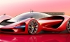 Ferrari P3 Hypercar Rendered as Valkyrie Rival