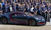 100th Bugatti Chiron Leaves Molsheim L'Atelier