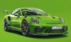 Porsche 911 GT3 RS' Lizard Green Color Explained