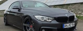 BMW 4 Series Looks Better Slammed!