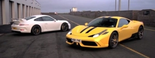 Chris Harris Compares: 458 Speciale v 991 GT3