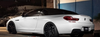 Eye Candy: BMW 6-Series Cabrio on Vellano Wheels