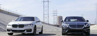 Super Sedan Battle: BMW 750i vs Mercedes S550