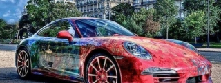 Porsche 991 Art Car from Saudi Arabia