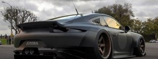 Menacing Porsche 991 Wide Body Envisioned by Sibal