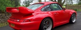 Onboard Porsche 993 GT2 at Goodwood Circuit