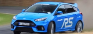 2016 Ford Focus RS Goes Crazy at GFoS!